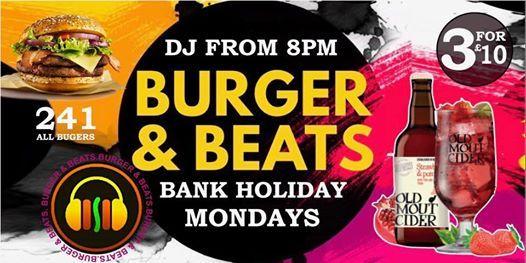 Burger & Beats - Bank Holiday Mondays