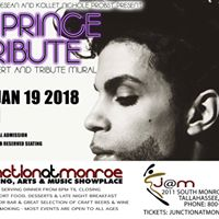 A Prince Tribute Concert and Mural