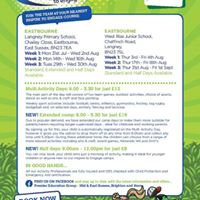 Holiday Multi-sports West Rise Junior School Eastbourne