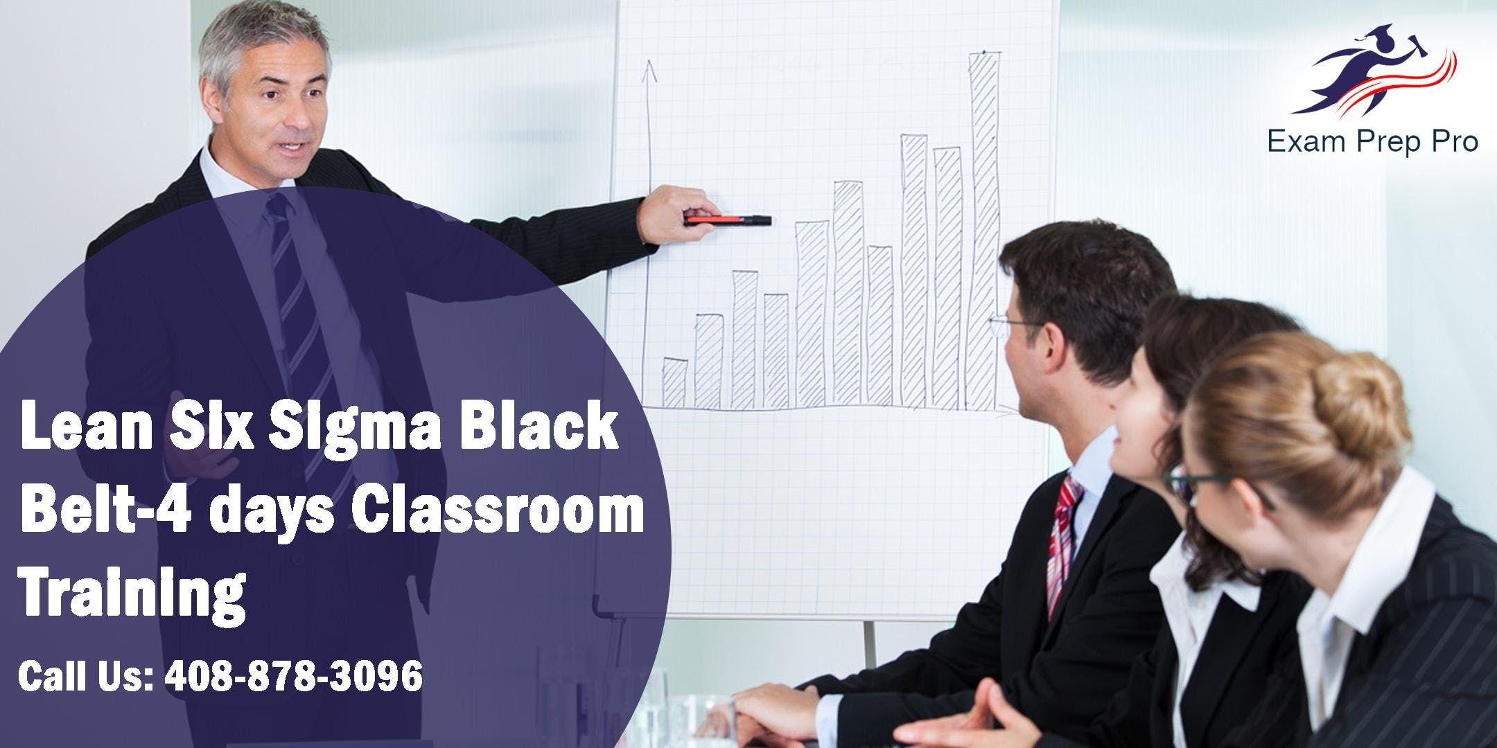 Lean Six Sigma Black Belt-4 days Classroom Training in Columbia SC