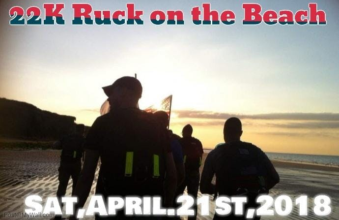 22K Ruck on the Beach