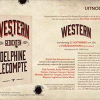 Voorstelling nieuwe dichtbundel van Delphine Lecompte
