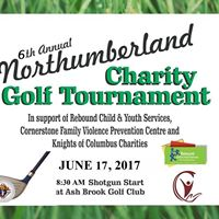 6th Annual Northumberland Charity Golf Tournament