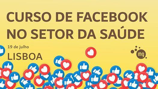 Curso de Facebook no Setor da Sade