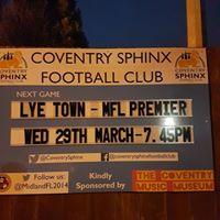 Coventry Sphinx v Lye Town - MFL Premier