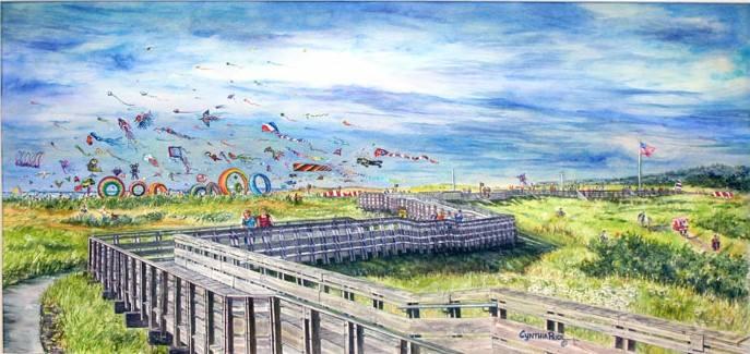 Long Beach International Kite Festival EDventure with GHC at