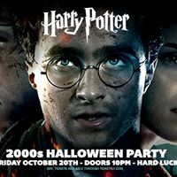 Harry Potter 2000s Party at Hard Luck - Oct 20