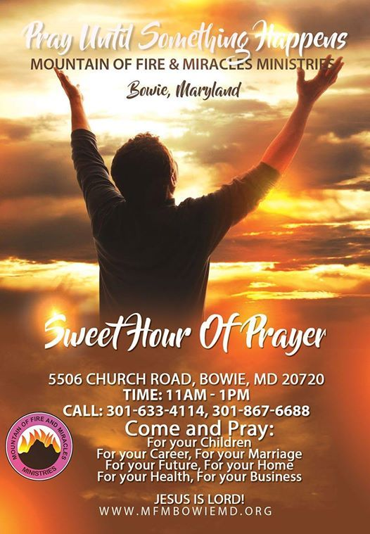 Sweet Hour of prayer at Mountain of Fire & Miracles