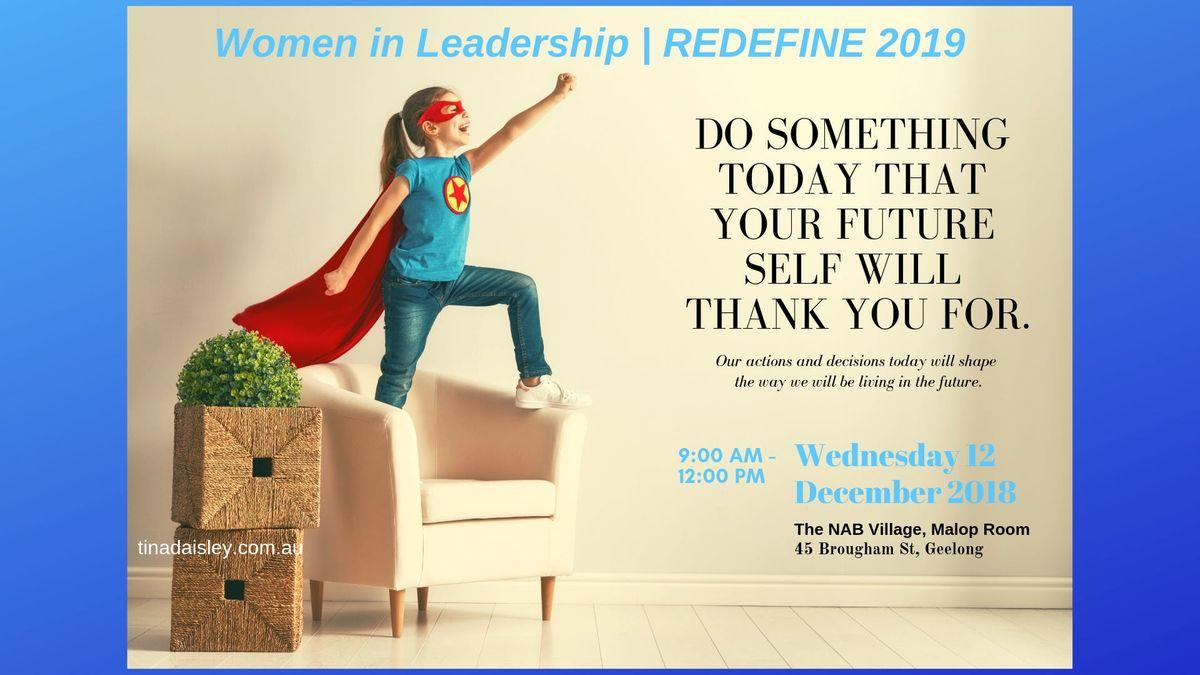 Women in Leadership REDEFINE 2019