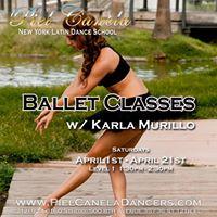Ballet Class level 1 w Karla