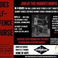 Ladies Self-defence Course