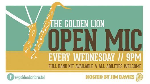 OPEN MIC NIGHT at The Golden Lion