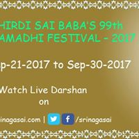 Sri Shirdi Sai Babas 99th Mahasamadhi Festival Celebration