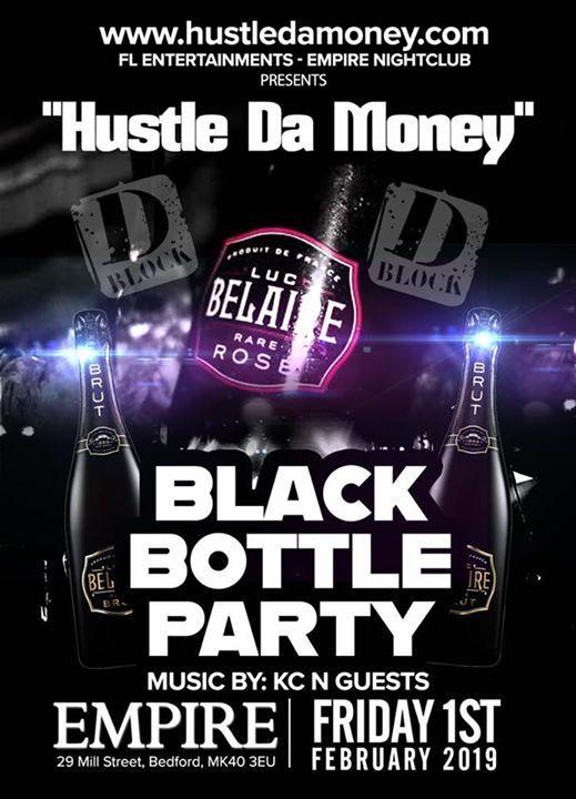 DBlock Black bottle party