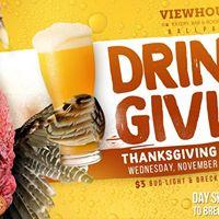 Thanksgiving Eve Bash Drinksgiving