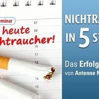 Mit Antenne Niedersachsen zum Nichtraucher in 5 Stunden.