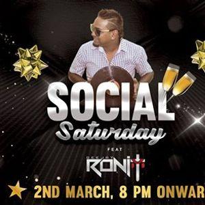 Social Saturday feat DJ Ronit