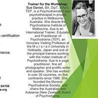 Psychodrama workshops with Sue Daniel
