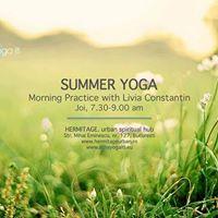 Summer Yoga Hermitage