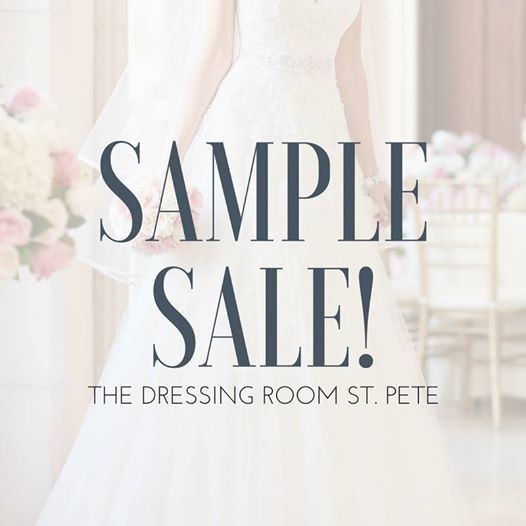8d6194a412 Sample Wedding Dress Sale! at The Dressing Room (St. Petersburg ...