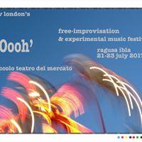 Oooh - Free-Improv &amp Experimental Music Festival. Sicily