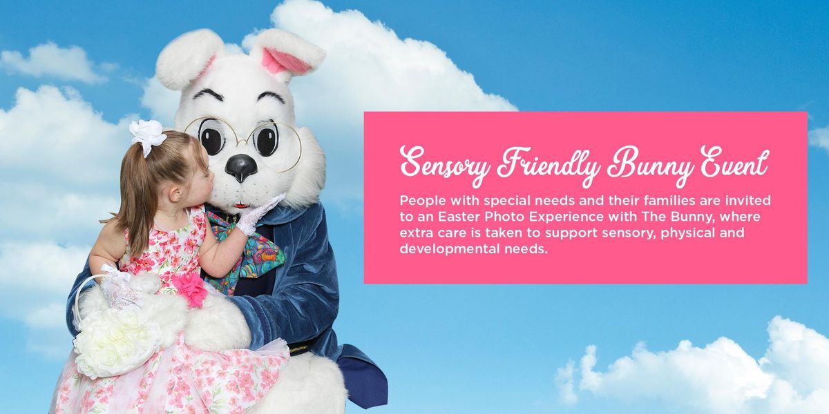 Sensory Friendly Easter Bunny Event at Eastpoint Mall