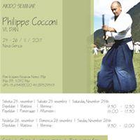 Aikido seminar - Philippe Cocconi