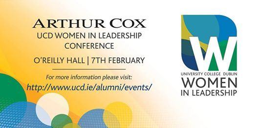 Arthur Cox UCD Women in Leadership 2019 - Student tickets