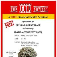 Pop Into Savings - A Free Financial Health Seminar