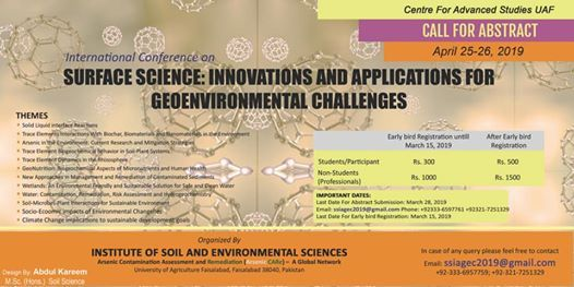 Surface Science Innovations and Applications