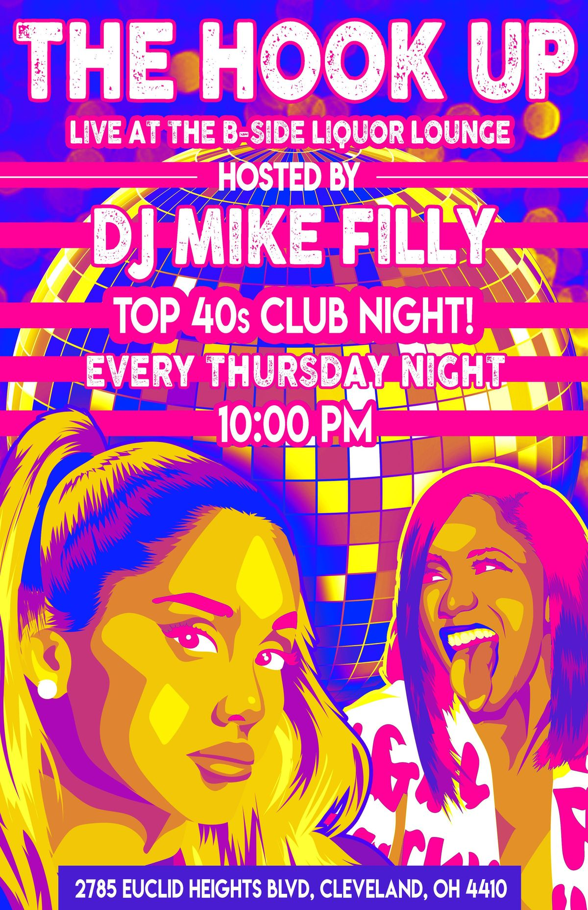 The Hook Up w DJ Mike Filly - Every Thursday at B Side