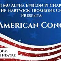 MA &amp Hartwicks Trombone Choir Present The American Concert