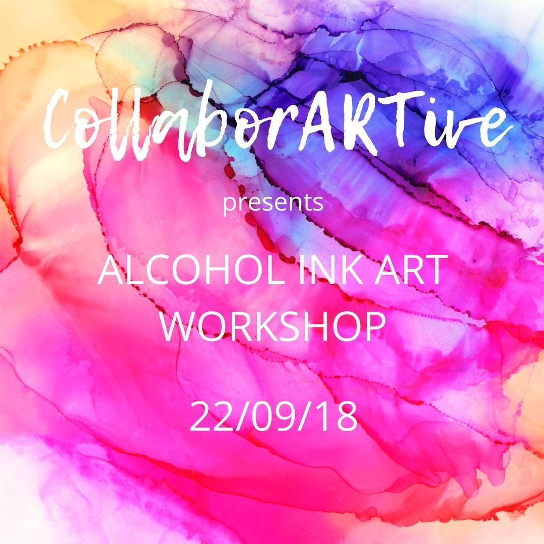 Introduction to Alcohol Ink Workshop
