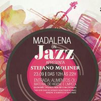 Madalena On Jazz com Stefano Moliner  23.09