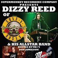 Dizzy Reed of Guns-n-Roses and His Allstar Band w Aquarocket &amp Rusty Soul Band