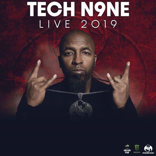 Dublin Ireland - Tech N9ne Live 2019