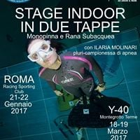 Stage indoor in due tappa Rana e Monopinna con Ilaria Molinari