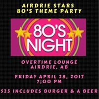 Stars 80s Themed Night Out