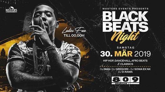 Black Beats Night  Hip Hop - Dancehall - Afro Beats