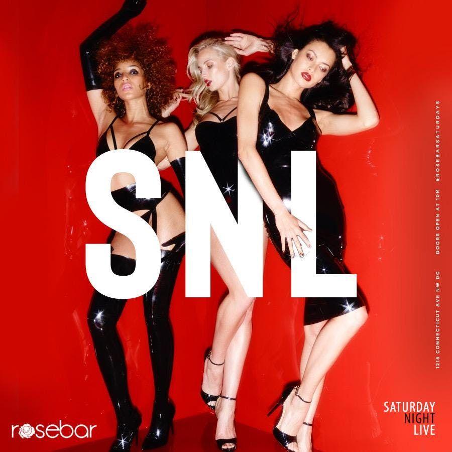 SNL AT ROSEBAR SATURDAYS