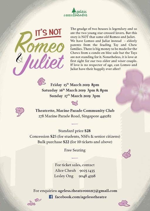 Its Not Romeo & Juliet