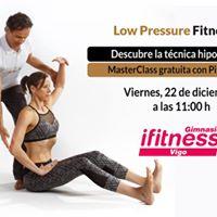 Vigo Workshop Low Pressure Fitness