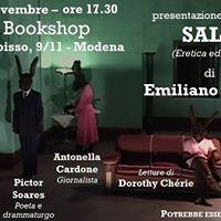 Presentazione del libro SALE di Emiliano Cesari