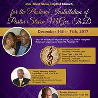 Pastoral Installation Weekend