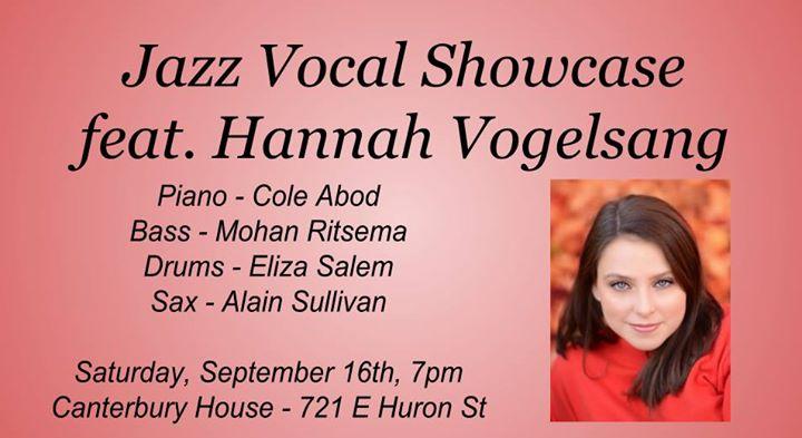 Jazz Vocal Showcase feat. Hann...