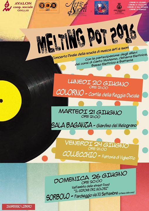 Melting Pot 2016 At Reggia Di Colorno Rocca Di Sala Baganza