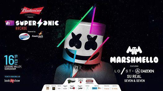 Vh1 Supersonic Arcade ft. Marshmello - Delhi