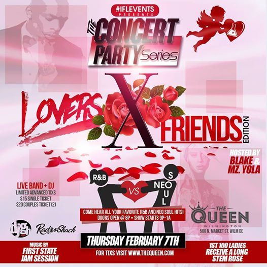 iFL Events Presents The Concert Party Lovers X Friends Edition