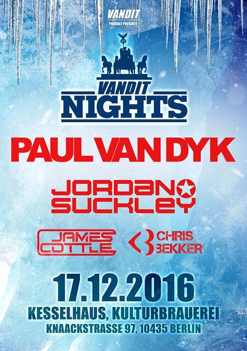 Vandit Winter Nights 2016 flyer