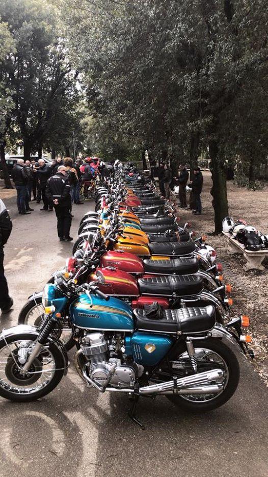 50 Anni Di Honda Cb 750 Four At Terrazza Del Pincio Foggia
